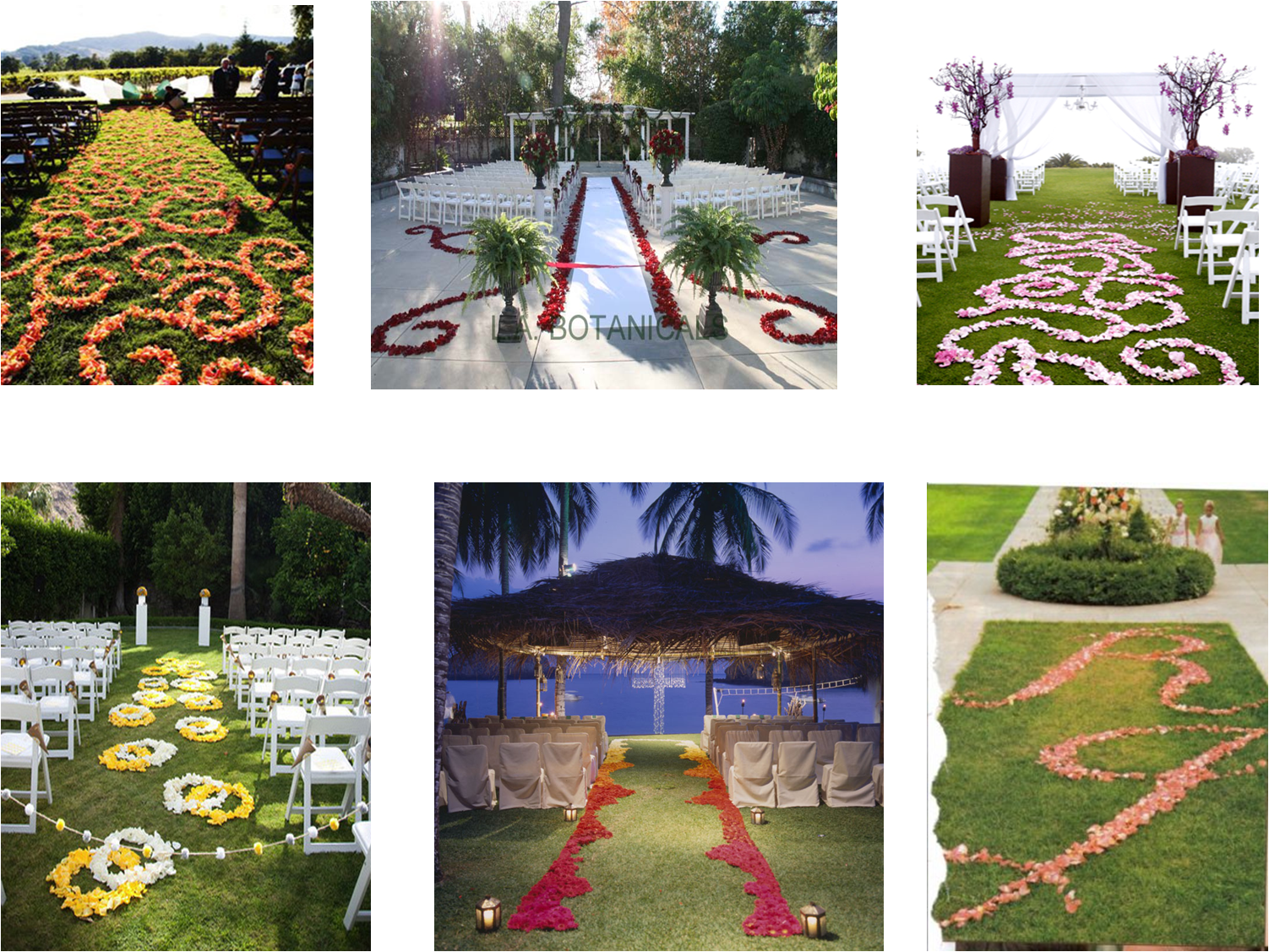 Tips and Ideas for Wedding Aisle Flowers and Décor | A Passion for ...